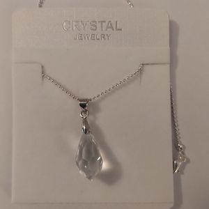 Swarovski Crystals Silver Necklace